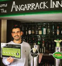 We got a perfect score on food and hygiene inspection today (5 star rating) ! Well done to our Amazing Chef Angelo and to the rest of the Angarrack Inn team !! #pub #angarrackinn #5star